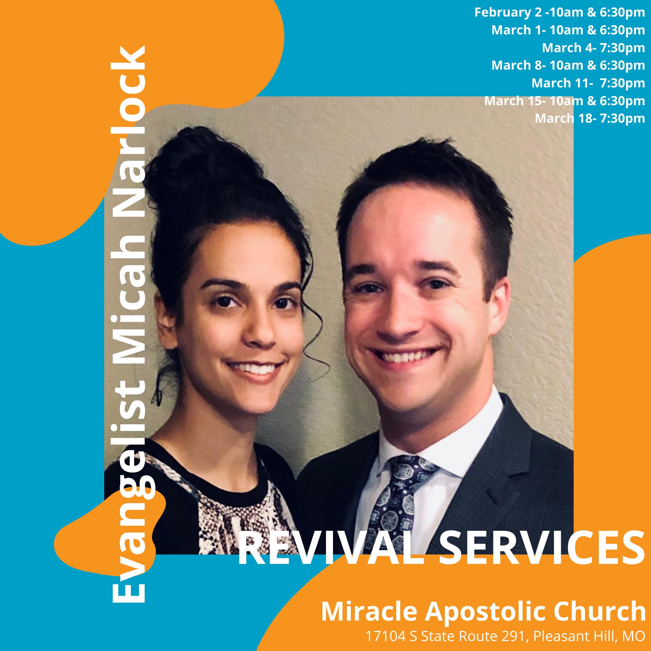 Evangelist Micah Narlock